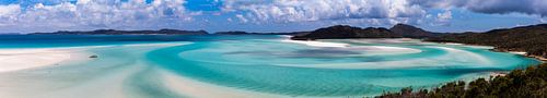 Whitsunday's Hill Inlet Panorama