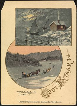 Godt Nytaar!, 1889, Wilhelm Larsen van De Canon