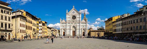 Basilica di Santa Croce di Firenze  van Teun Ruijters
