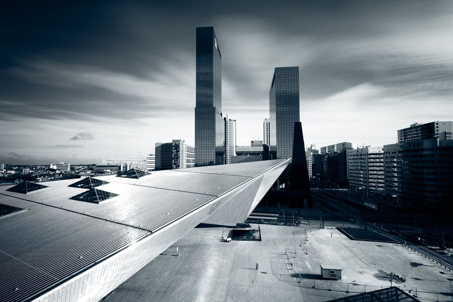 New Rotterdam Centraal van Sander Monster