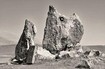 Zorats Karer, Stenen van Macht, Armenië (1) van Anne Hana