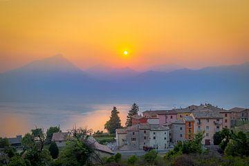 Sonnenuntergang Lago di Garda sur Bart Hendrix