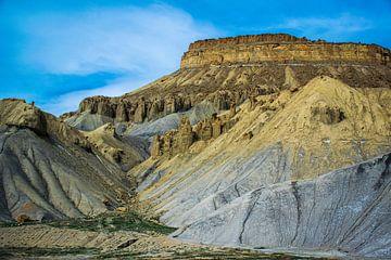 Bergen in de woestijn, Colorado. USA van Rietje Bulthuis