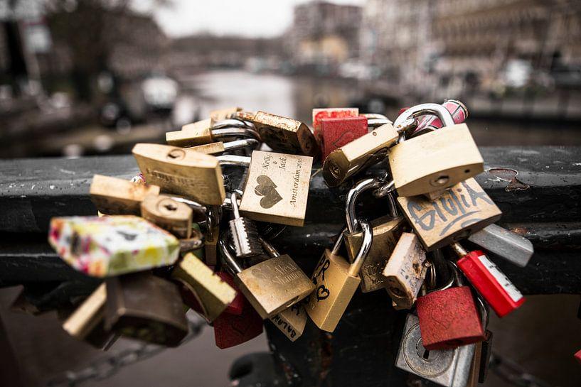 Lovelocks Amsterdam van PIX URBAN PHOTOGRAPHY