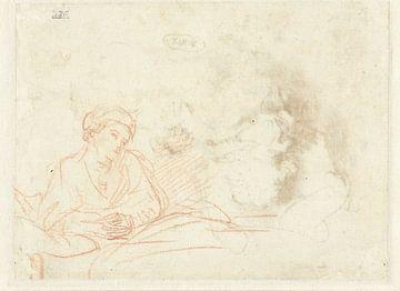 Saskia im Bett, Rembrandt van Rijn