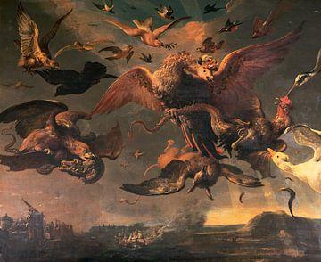 Die Tieflandkriege Wilhelms III., Melchior d'Hondecoeter