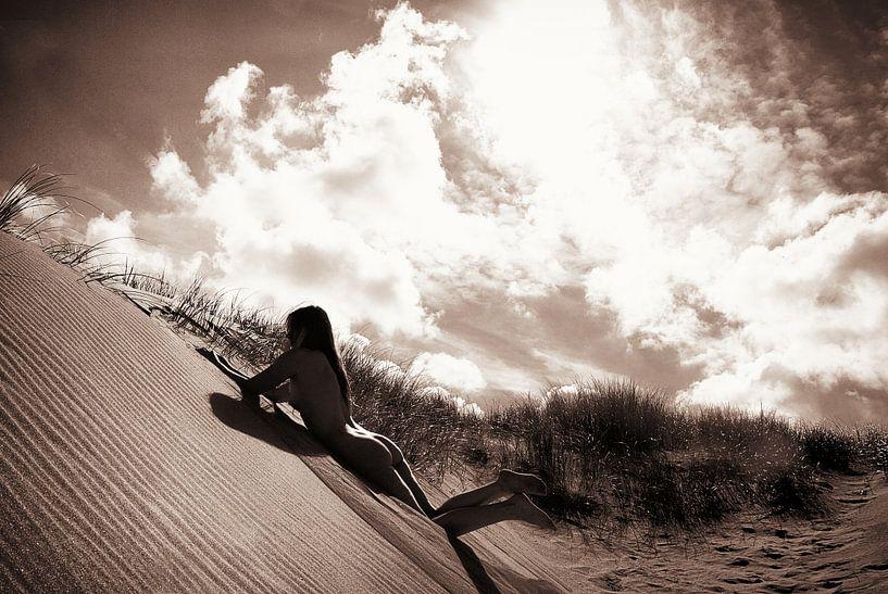 Here Comes the Sun ( naakt / nude ) von Kees de Knegt