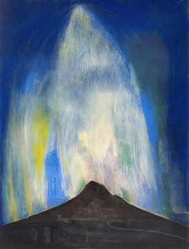 Joseph Stella-Pyrotechnische branden
