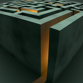 Das grüne Labyrinth von Jörg Hausmann