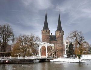 De Oostpoort in Delft van Silvia Groenendijk