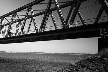 Spoorbrug Dordrecht moerdijk van Kuifje-fotografie