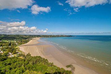 Blick auf die Bucht in der Bretagne von Bianca Kramer