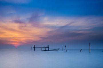 Fischernetze in Stellendam von Sander Poppe