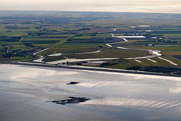 Polder Het Noorden auf Texel von Roel Ovinge