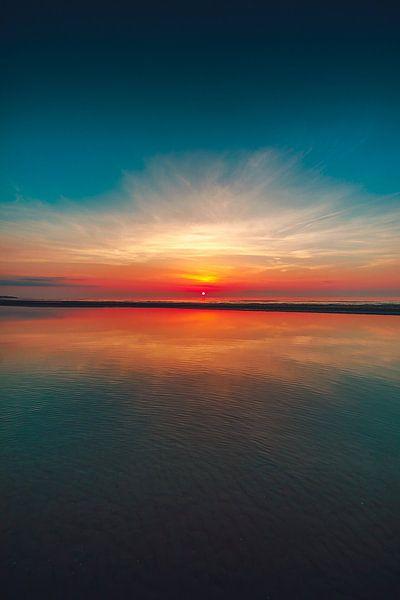 Vrouwenpolder zonsondergang van Andy Troy