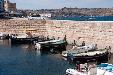 haven van st julian op malta van Compuinfoto .