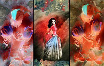 Die Blumenfee von Vera Markgraf