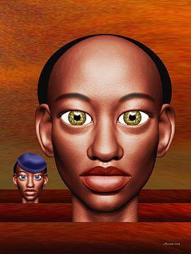 Afrikaanse Kleuren van Ton van Hummel (Alias HUVANTO)