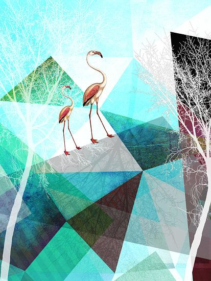 Flamingo P20-B van Pia Schneider