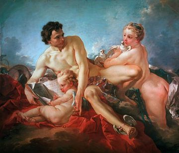François Boucher - Het onderwijs van de liefde van