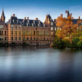 Binnenhof Den Haag am frühen Morgen von Rene Siebring