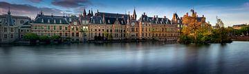 Binnenhof La Haye au petit matin sur Rene Siebring