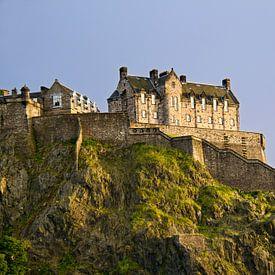 Kasteel van Edinburgh in Schotland van Jan Kranendonk