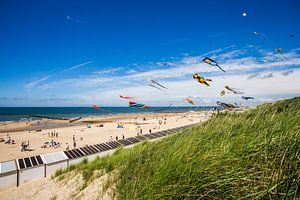 Vliegerfestival 150 jaar Badhotel Domburg