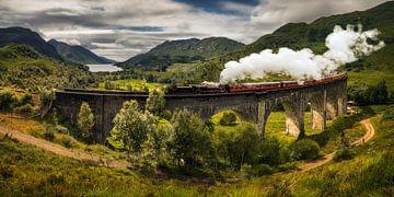 Steam train von Wojciech Kruczynski
