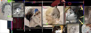 collage twee van pim veeger