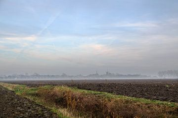 Mist in Ostfriesland van Rolf Pötsch