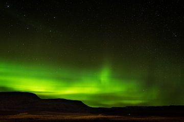 Noorderlicht IJsland van Samantha Schoenmakers