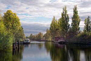 Wilhelmsburger Kanal van