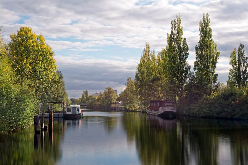 Wilhelmsburger Kanal sur Borg Enders