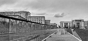 Berlijnse muur  van Ellen van Schravendijk