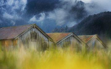 Blaues Land von Ulrike Eisenmann