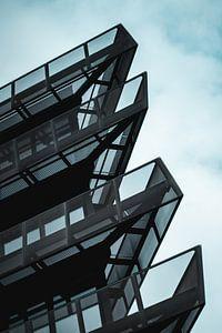 Architectuur in Hamburg van Laurenz Heymann