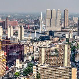 Downtown Rotterdam van Frans Blok