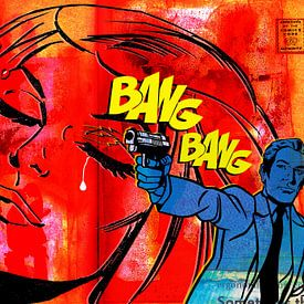 Bang Bang, My Baby Shot Me Down sur Feike Kloostra