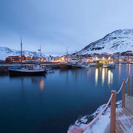 Noorwegen, Honningsvag van Frank Peters