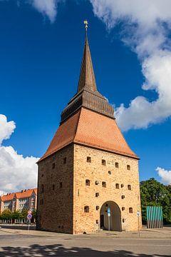 Blick auf das Steintor in Rostock von Rico Ködder