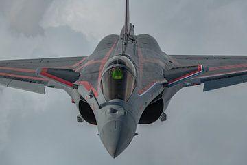 Rafale Solo Display Team, Franse Luchtmacht, air-to-air gefotografeerd. van Jaap van den Berg