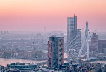Zonsopgang Rotterdam van