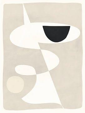 Abstract-Dance II van Rudy en Gisela Schlechter
