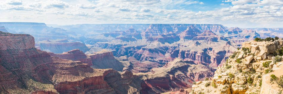 Panoramisch Uitzicht op de Grand Canyon USA van Frenk Volt