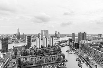 Le Leuvehaven à Rotterdam sur MS Fotografie | Marc van der Stelt