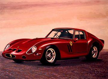 Ferrari 250 GTO 1962 Schilderij van Paul Meijering