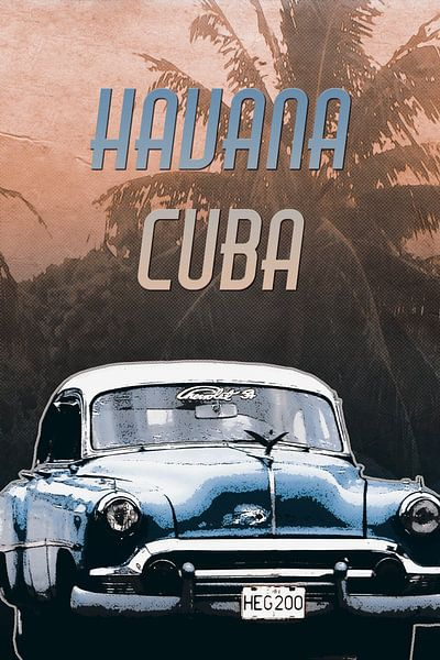 Havana Cuba von Nannie van der Wal