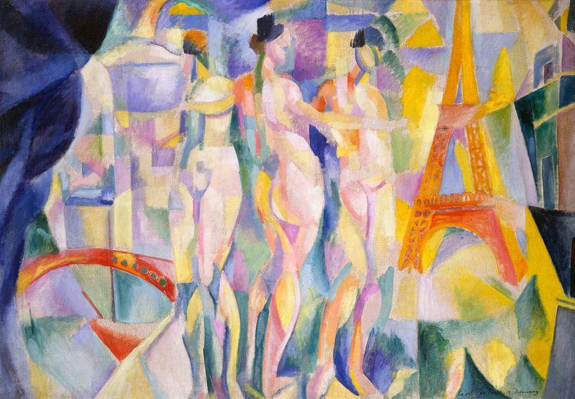 La ville de Paris, Robert Delaunay von Meesterlijcke Meesters
