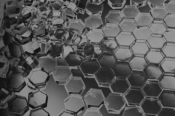 Hexagon serie - Van Chaos naar Orde van WijlensAanDeWand
